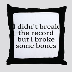 Injury Throw Pillow