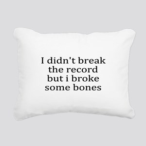 Injury Rectangular Canvas Pillow