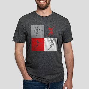 Lacrosse Black T-Shirt