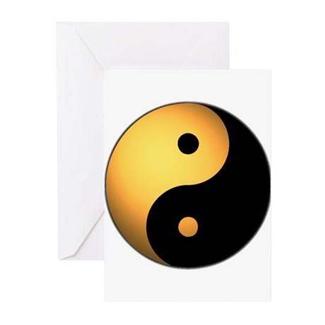 Yin Yang Greeting Cards (Pk of 10)