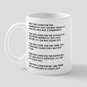 apathy on rights Mug