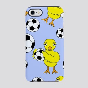 Soccer Chick Pattern iPhone 8/7 Tough Case