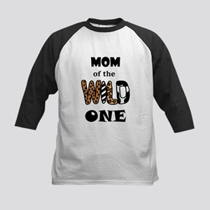 Mom of the Wild One Baseball Jersey