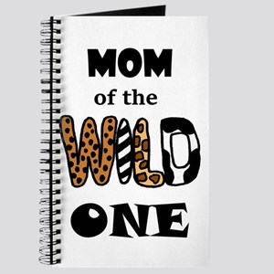 Mom of the Wild One Journal