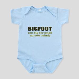 funny bigfoot Body Suit
