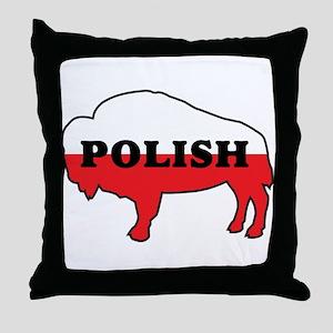 Buffalo Polish Throw Pillow