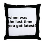 sourcecontrol Throw Pillow