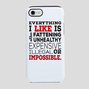 fattening iPhone 8/7 Tough Case