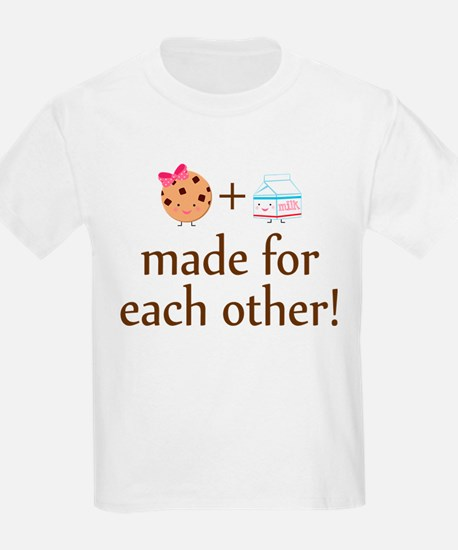 Cookie and Milk Couples T-Shirt