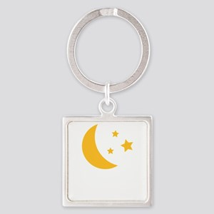Moon and Stars Keychains