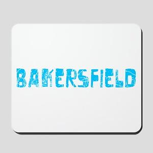 Bakersfield Faded (Blue) Mousepad