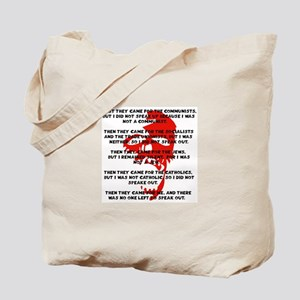 human rights apathy Tote Bag