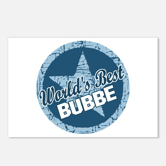 Worlds Best Bubbe Postcards (Package of 8)