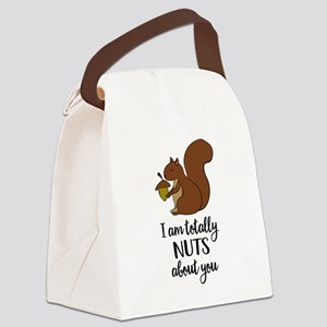 totally nuts Canvas Lunch Bag