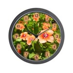 Scarlet Pimpernel Wall Clock