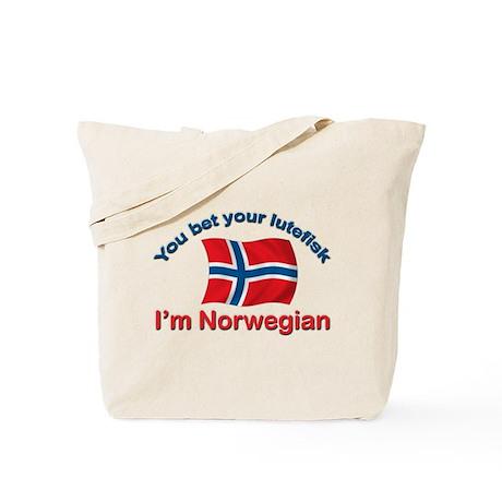 Norwegian Lutefisk Tote Bag