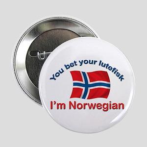 """Norwegian Lutefisk 2.25"""" Button"""