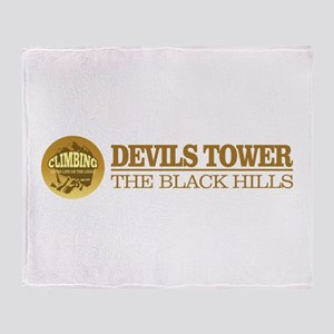 Devils Tower Throw Blanket