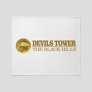 Devils Tower Throw Blanket