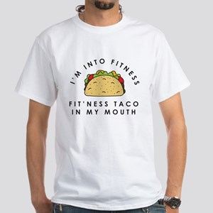 Fitness Taco In My Mouth Men's Classic T-Shirts