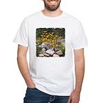 California Poppies White T-Shirt