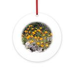 California Poppies Keepsake (Round)
