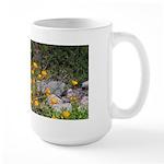 California Poppies Large Mug