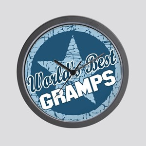 Worlds Best Gramps Wall Clock