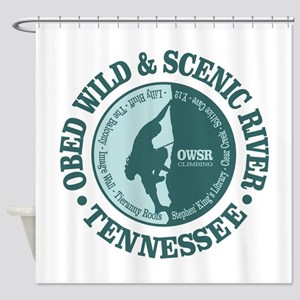 Obed River Shower Curtain