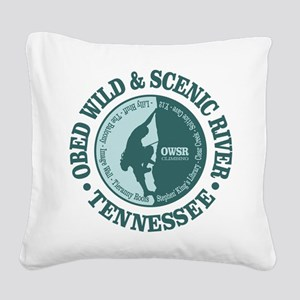 Obed River Square Canvas Pillow