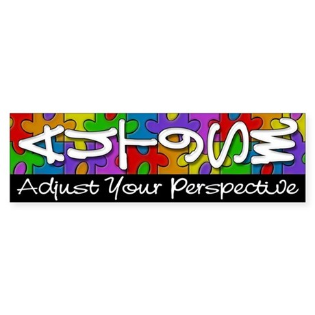 Adjust Your Perspective Bumper Sticker
