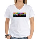 Adjust Your Perspective Women's V-Neck T-Shirt