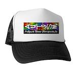 Adjust Your Perspective Trucker Hat