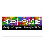 Adjust Your Perspective Postcards (Package of 8)