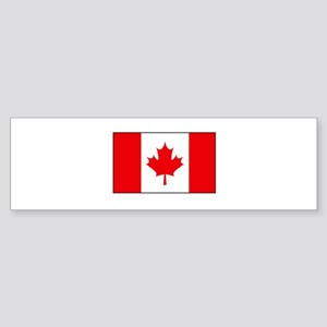 Canadian Flag Bumper Sticker