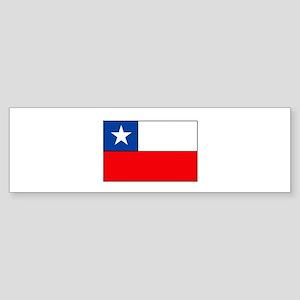 Chilean Flag Bumper Sticker