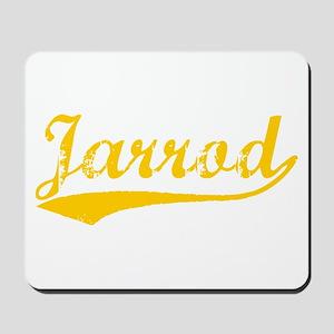 Vintage Jarrod (Orange) Mousepad