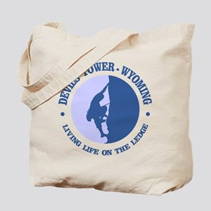 Devils Tower (logo) Tote Bag