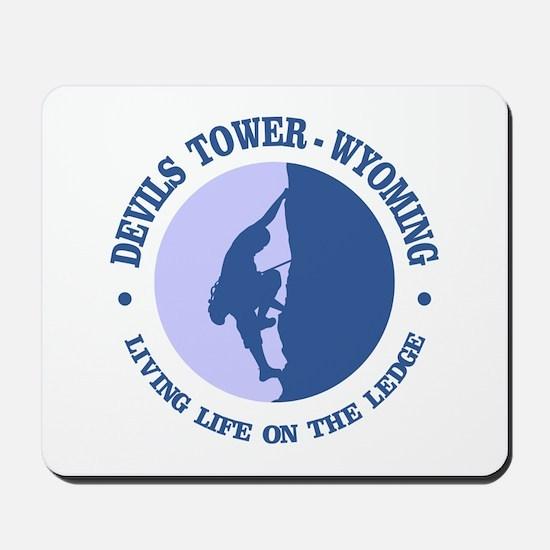 Devils Tower (logo) Mousepad