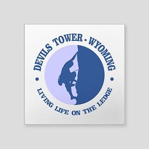 Devils Tower (logo) Sticker