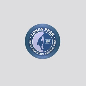 Longs Peak Mini Button
