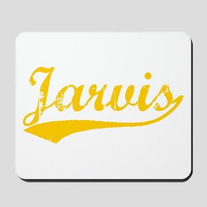 Vintage Jarvis (Orange) Mousepad