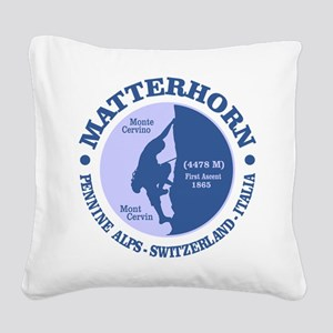 Matterhorn Square Canvas Pillow