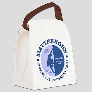 Matterhorn Canvas Lunch Bag