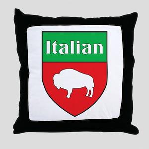 Buffalo Italian Crest Throw Pillow