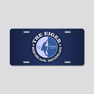 The Eiger Aluminum License Plate