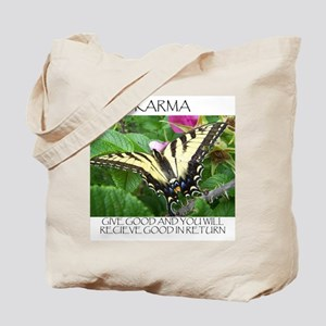 Butterfly Karma Tote Bag