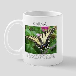 Butterfly Karma Mug