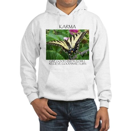 Butterfly Karma Hooded Sweatshirt