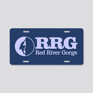Red River Gorge Aluminum License Plate